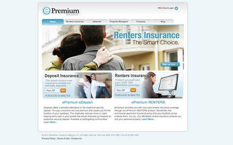 Renters Insurance and Security Deposit Alternatives from ePremium Insurance