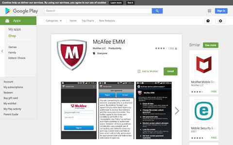 McAfee EMM - Android Apps on Google Play