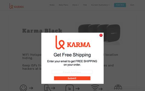 Intro Karma Black | Karma