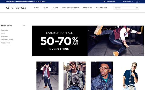 Clothing for Teen Boys &  Men | Aeropostale