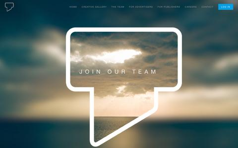 Screenshot of Jobs Page trioninteractive.com - Trion | The Team - captured Sept. 22, 2018