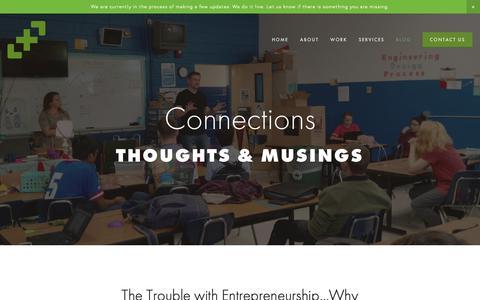 Screenshot of Blog thejuncture.com - Blog — Juncture - captured Oct. 14, 2018