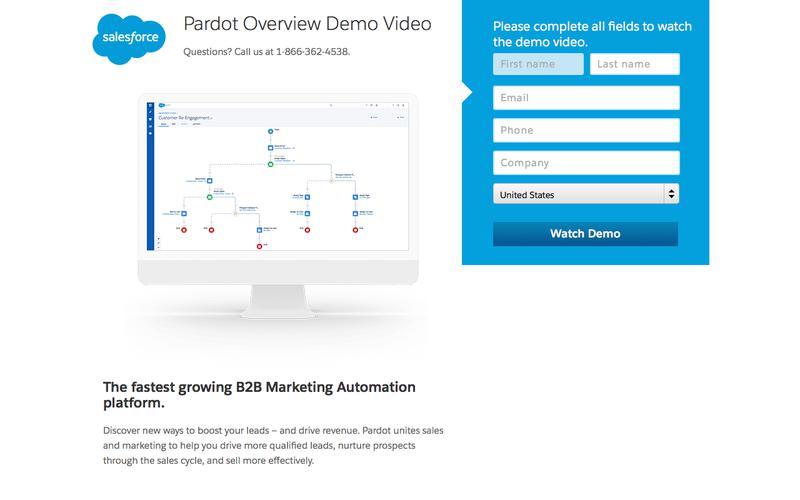 Pardot Overview Demo Video - Salesforce.com
