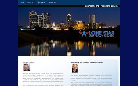 Screenshot of Team Page lonestar-cs.com captured Nov. 2, 2014