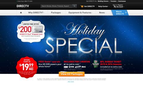 DIRECTV Satellite TV - Official Site | 1-800-490-4388