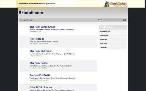 Screenshot of Terms Page skadoit.com - Contact Support - captured Sept. 17, 2014