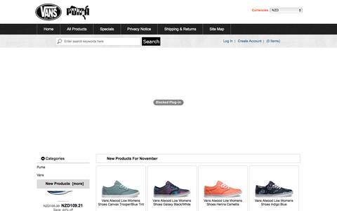 Screenshot of Home Page shearsandmac.co.nz - 2016 Puma Shoes Online | Puma Shoes Outlet New Zealand - captured Nov. 29, 2016