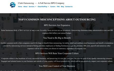 Screenshot of Blog clarkoutsourcing.com - Blog – Clark Outsourcing - captured May 27, 2019