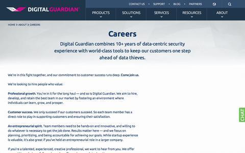 Digital Guardian Careers: Jobs in Sales, Marketing, Engineering & More | Digital Guardian