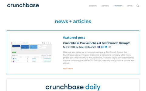 Blog - Crunchbase