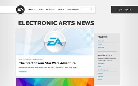 Electronic Arts News