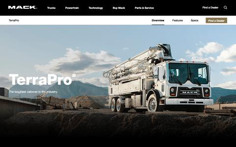 Mack TerraPro Series Garbage and Concrete Pumper | Mack Trucks