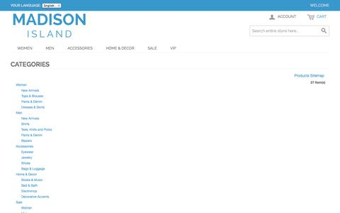 Screenshot of Site Map Page romanmonarch.com - Site Map - captured Nov. 4, 2014