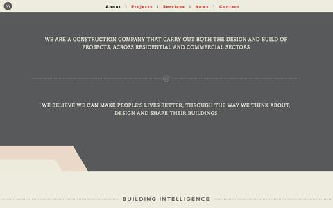 Screenshot of About Page dunne.uk.com - About - Dunne - Building Intelligence - captured Sept. 30, 2014