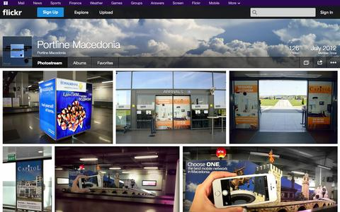 Screenshot of Flickr Page flickr.com - Flickr: Portline Macedonia's Photostream - captured Oct. 23, 2014