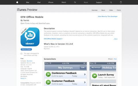 EFM Offline Mobile on the App Store