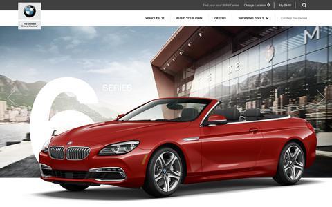 BMW 6 Series - BMW USA