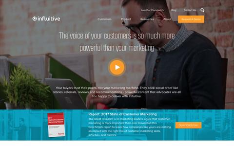 Influitive, the advocate marketing experts