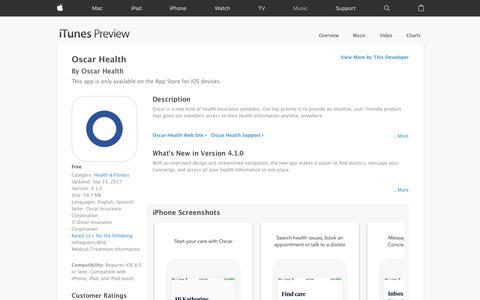 Oscar Health on the App Store