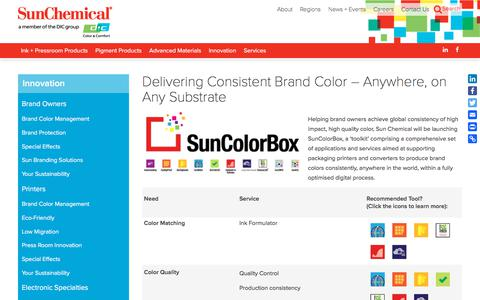 Delivering Consistent Brand Color – Anywhere, on Any Substrate | Sun Chemical