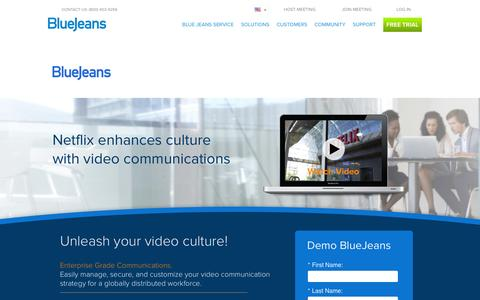 Screenshot of Case Studies Page bluejeans.com - Customer Case Studies | See What our Customers Have to Say - captured Feb. 28, 2016