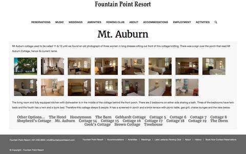 Mt. Auburn – Fountain Point Resort