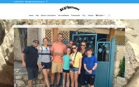 Screenshot of Blog israelscaventures.com - ScaVentures Blog - Israel ScaVentures - captured Oct. 13, 2018
