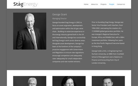 Screenshot of Team Page stagenergy.com - People | Stag energy - captured Oct. 26, 2017