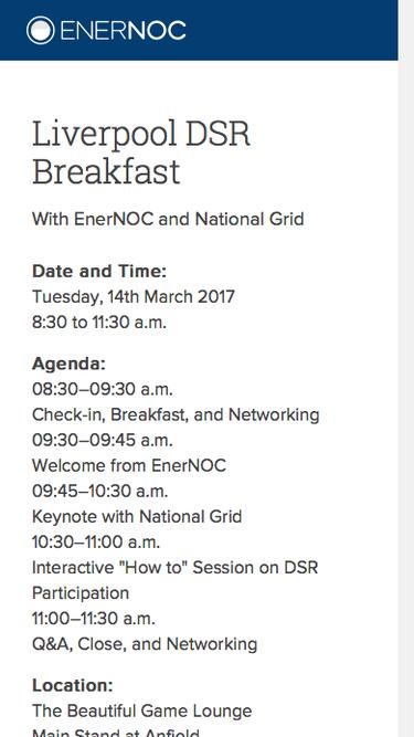 Liverpool DSR Breakfast | 14th March 2017