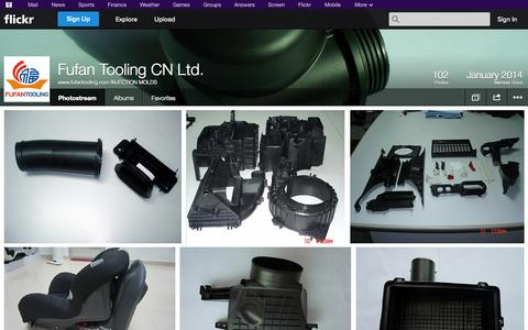 Screenshot of Flickr Page flickr.com - Flickr: www.fufantooling.com INJECTION MOLDS' Photostream - captured Oct. 23, 2014