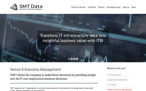 Screenshot of Team Page smtdata.com - Management - SMT Data - captured July 26, 2018