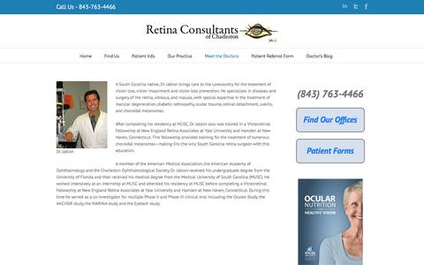 Eric Jablon, M.D. | Retina Consultants of Charleston