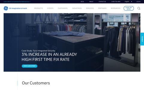 Customers   ServiceMax