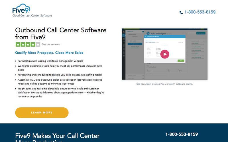 Outbound Call Center | Five9