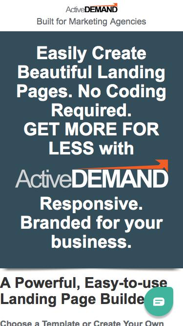 Landing Pages that Convert | ActiveDEMAND