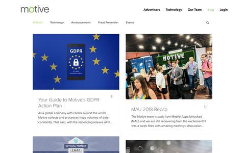 Performance Programmatic Mobile Marketing Company | Motive