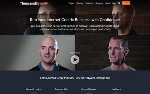Network Performance Case Studies | ThousandEyes