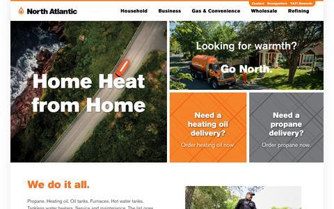 Screenshot of Home Page northatlantic.ca - North Atlantic - captured Oct. 19, 2018