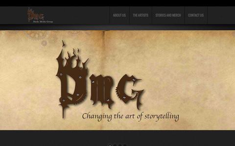 Screenshot of Press Page darkemediagroup.com - Darke Media Group Home | Darke Media Group - captured Oct. 23, 2014