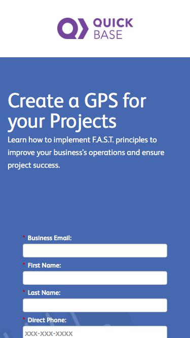 Create a GPS for your Projects