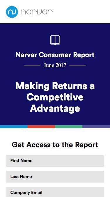 Narvar   Returns Study