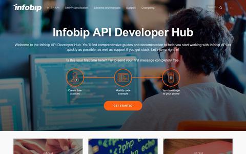 SMS API | Infobip