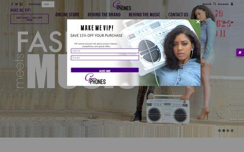 Screenshot of Press Page gemphones.com - GemPhones - captured Aug. 26, 2016