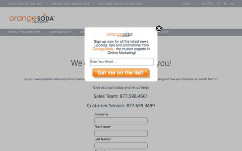 Contact | OrangeSoda