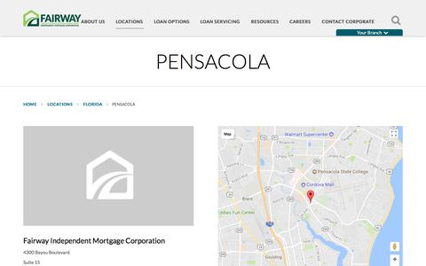 Pensacola | Fairway Independent Mortgage Corporation