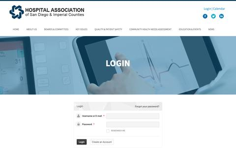 Screenshot of Login Page hasdic.org - Login | HASDIC - captured Sept. 29, 2018