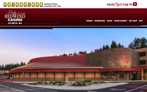 Screenshot of Maps & Directions Page redwindcasino.com - Directions | Nisqually Red Wind Casino - captured Jan. 29, 2016