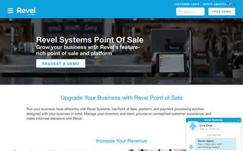 iPad POS System and Platform   Revel Systems Point of Sale   Free Demo