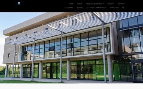 Screenshot of Home Page phicor.co.za - Phicor | Architectural Design and Manufacturing - captured July 15, 2018