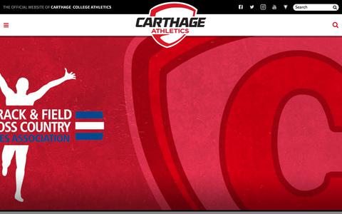 The Official Website of Carthage  College Athletics